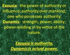 Delivered 3 slide exousia dunamis def