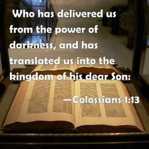 colossians 1.13